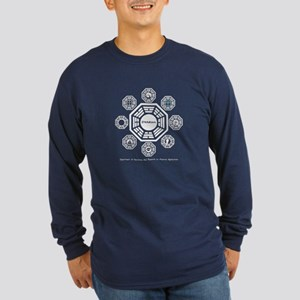 Dharma Stations Long Sleeve Dark T-Shirt