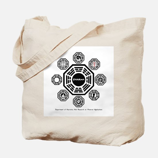 Dharma Stations Tote Bag