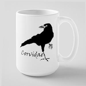 Corvidae Large Mug