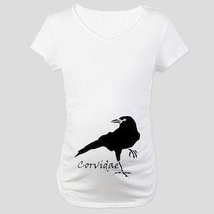 Corvidae Maternity T-Shirt