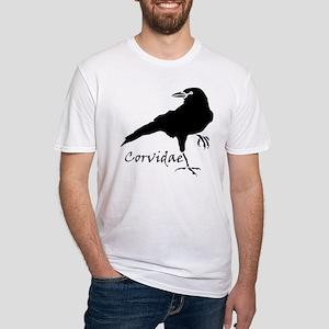 Corvidae Fitted T-Shirt