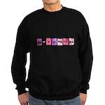 Geek Be My Valentine Sweatshirt (dark)