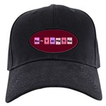 Geek Be My Valentine Black Cap