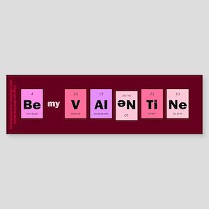 Geek Be My Valentine Sticker (Bumper)