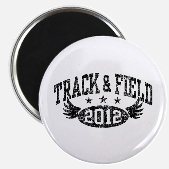 Track & Field 2012 Magnet