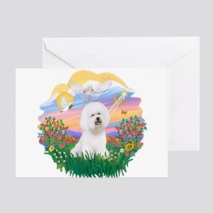 Guardian - Bichon #1 Greeting Card