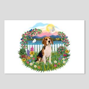 Garden-Shore-Beagle#3 Postcards (Package of 8)