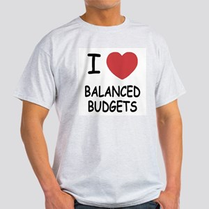 I heart balanced budgets Light T-Shirt