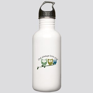 Owl always love you! Stainless Water Bottle 1.0L