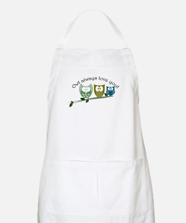 Owl always love you! Apron
