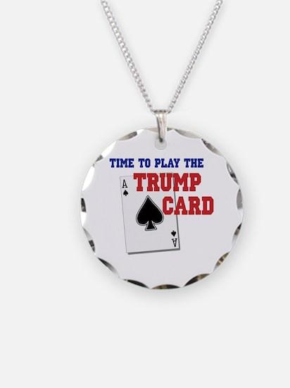 Trump Card Necklace