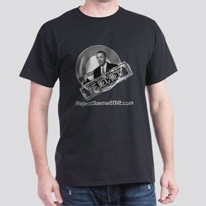 Reject Obama Men's Dark T-Shirt