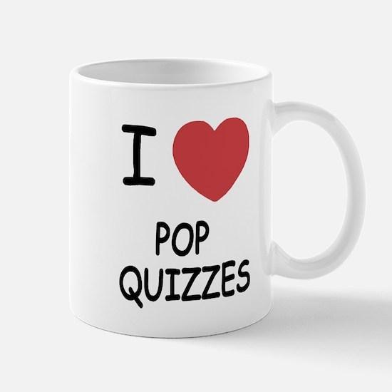 I heart pop quizzes Mug