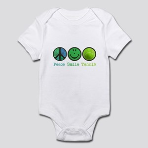 Smile and TENNIS Infant Bodysuit