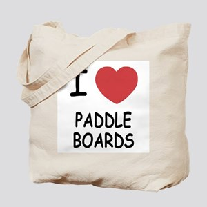 I heart paddleboards Tote Bag