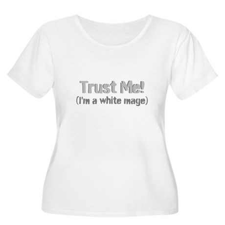 Trust Me Women's Plus Size Scoop Neck T-Shirt