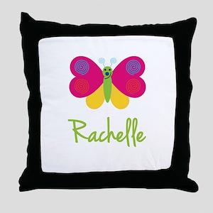Rachelle The Butterfly Throw Pillow