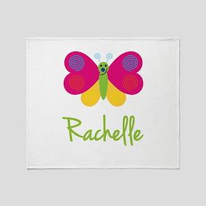 Rachelle The Butterfly Throw Blanket