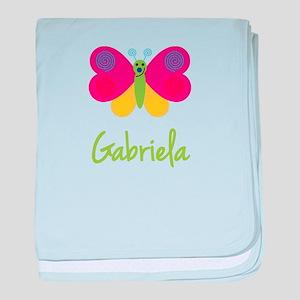 Gabriela The Butterfly baby blanket