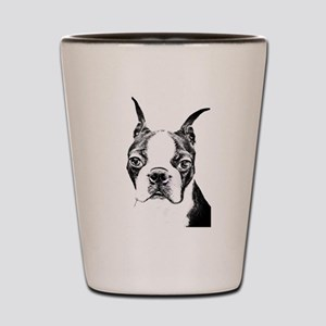 BOSTON TERRIER - DOG Shot Glass