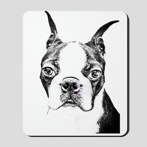 BOSTON TERRIER - DOG Mousepad
