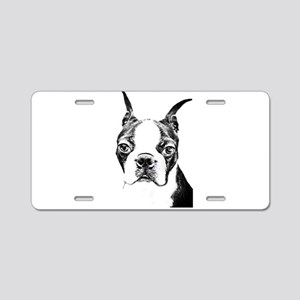 BOSTON TERRIER - DOG Aluminum License Plate
