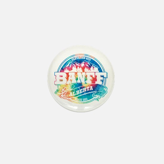 Banff Old Circle Mini Button