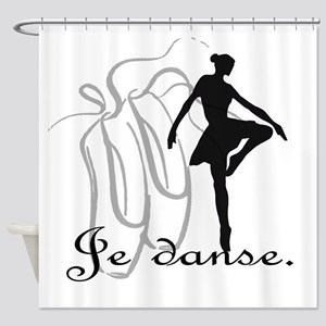 Je danse Shower Curtain