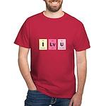 Geek I Love You Dark T-Shirt