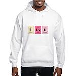 Geek I Love You Hooded Sweatshirt