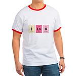Geek I Love You Ringer T