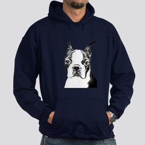 BOSTON TERRIER - DOG Hoodie (dark)