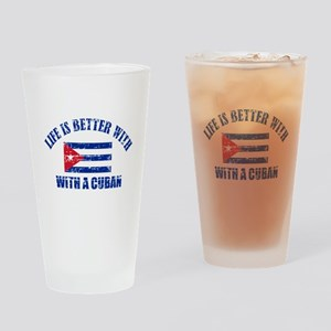 cuba designs Drinking Glass