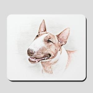 BULL TERRIER - DOG Mousepad