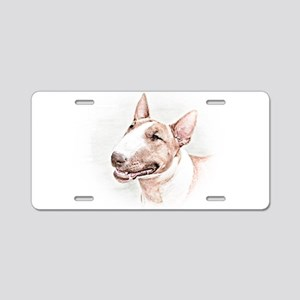 BULL TERRIER - DOG Aluminum License Plate