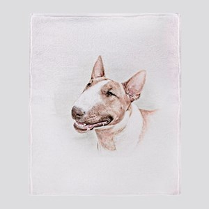 BULL TERRIER - DOG Throw Blanket