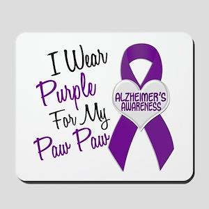 I Wear Purple 18 Alzheimers Mousepad