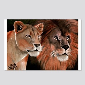 Beauty and her Beast, Postcards (Package of 8)