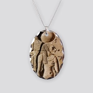 Sekhmet Lioness Goddess of Upper Egypt Necklace Ov
