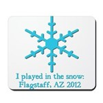 Flagstaff Snowplay 2012 Mousepad