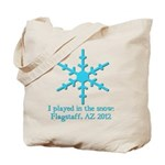 Flagstaff Snowplay 2012 Tote Bag
