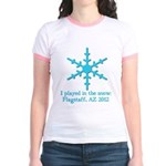 Flagstaff Snowplay 2012 Jr. Ringer T-Shirt