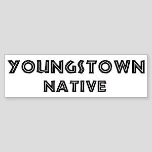 Youngstown Native Bumper Sticker