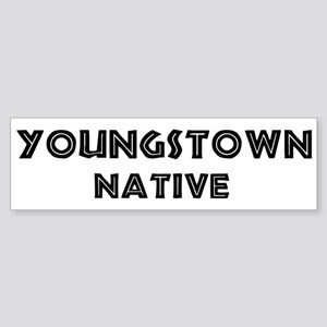 Youngstown Native Bumper Sticker