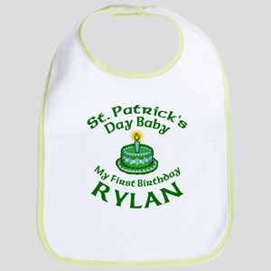 Rylan Personalized Birthday Bib