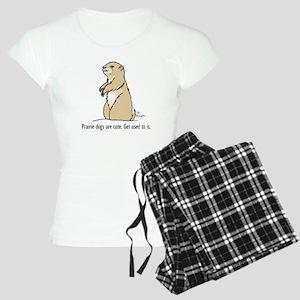 Prairie dogs are cute Women's Light Pajamas