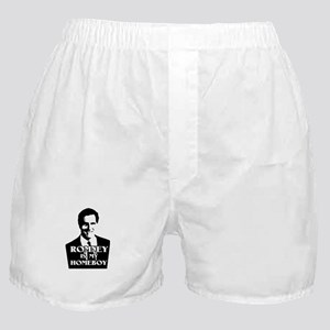 Mitt Romney is my Homeboy Boxer Shorts