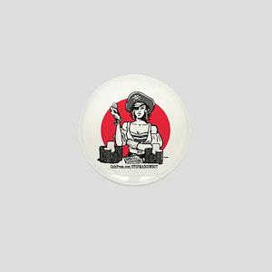 Bitchy Poker Pirate Mini Button