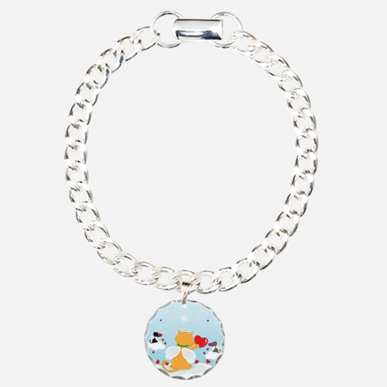 Angel Kitties Bracelet