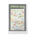 sardonic salad Sticker (Rectangle)